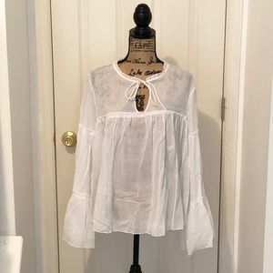 White blouse from H&M